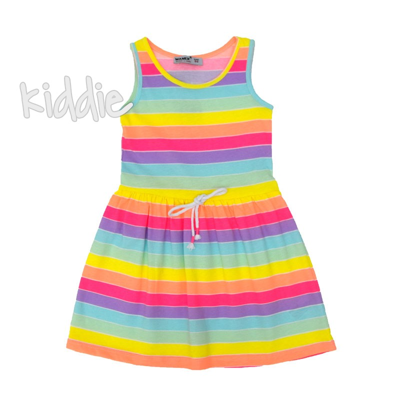 Детска шарена рокля Wanex
