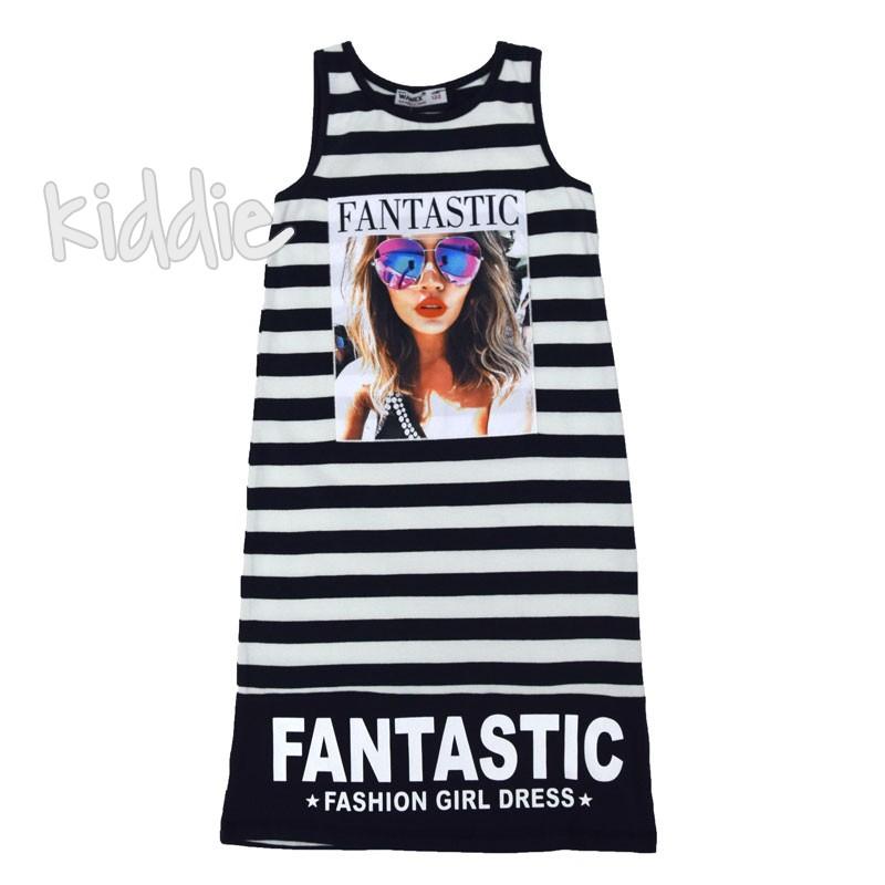 Детска рокля в райе Fantastic Wanex