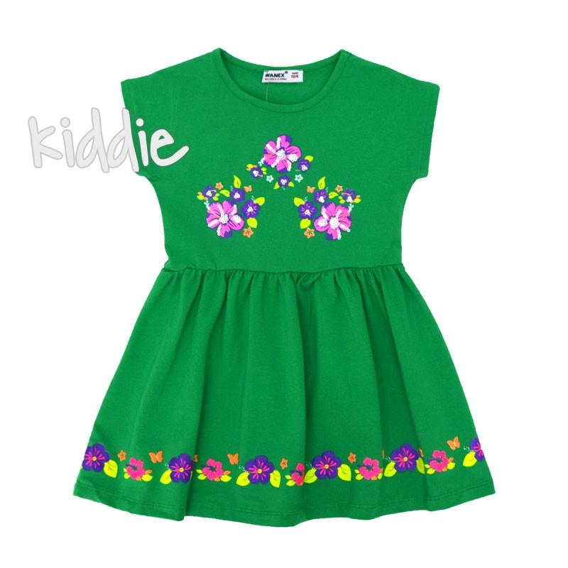 Детска рокля с цветя Wanex