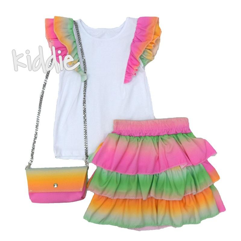 Детски комплект за момиче с чанта