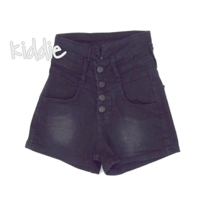 Детски къси панталони Breeze с висока талия за момиче