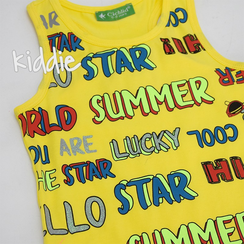 Детска рокля Cichlid Summer