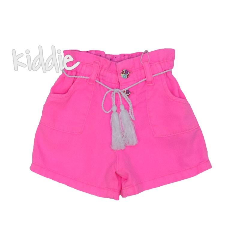 Детски цветни къси панталони Cikoby за момиче