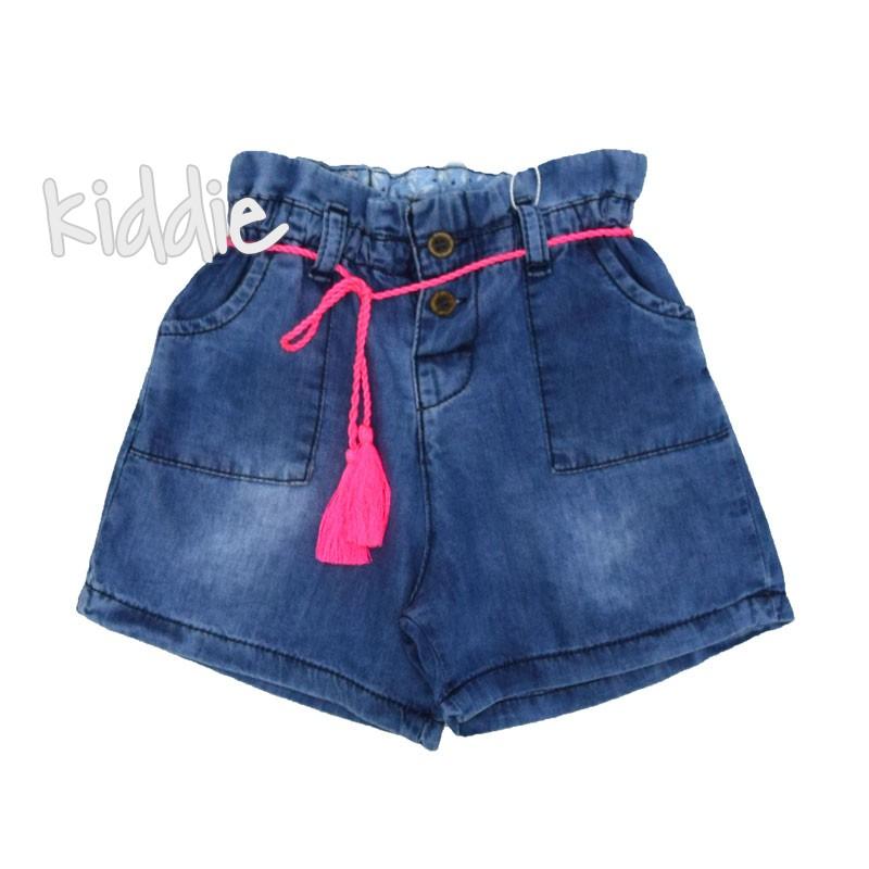 Детски къси дънкови панталони за момиче Cikoby