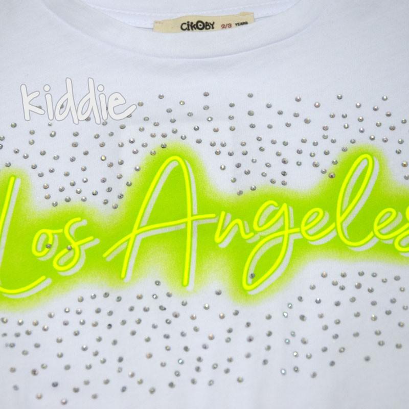 Детски комплект Los Angeles Cikoby за момиче