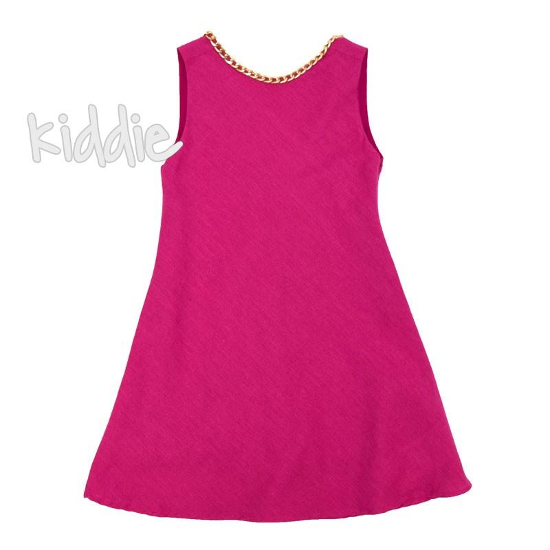 Детска рокля Cikoby със синджир
