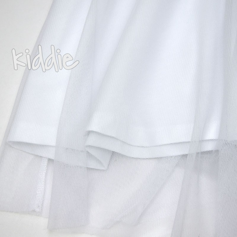 Детска тюлена рокля Fashion Cikoby с висока талия