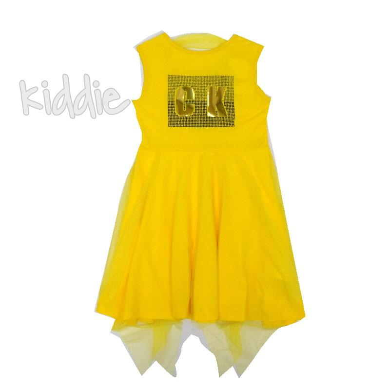 Детска рокля Cikoby CK с тюл