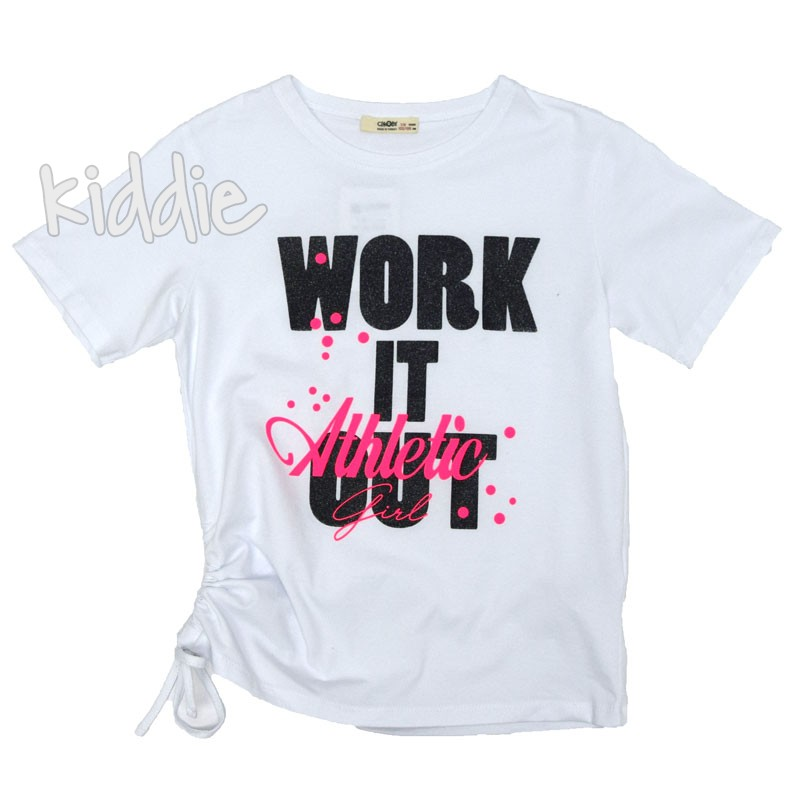 Детска тениска Work it Out Cikoby за момиче