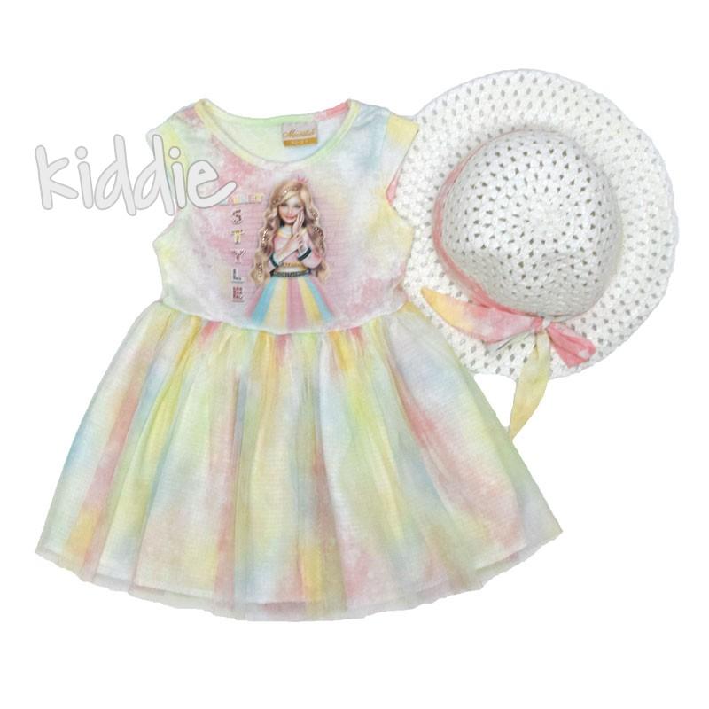Детска рокля Moonstar с шапка
