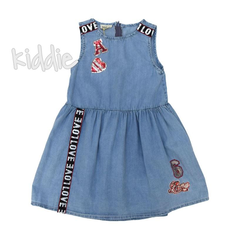 Детска дънкова рокля Sani