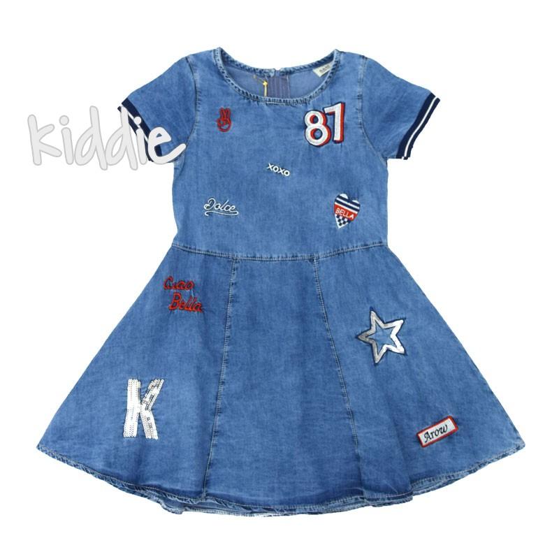 Детска дънкова рокля 87 Sani