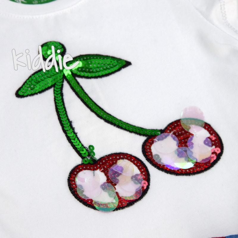 Детски комплект Cichlid с череша за момиче