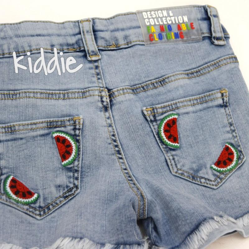 Детски къси панталони Cichlid за момиче с диня