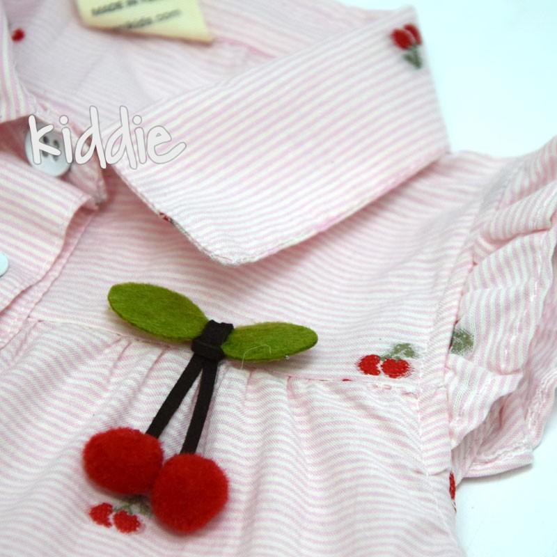 Детски комплект Черешки Sani за момиче