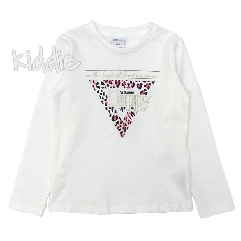 Детска блуза Ativo за момиче Happy