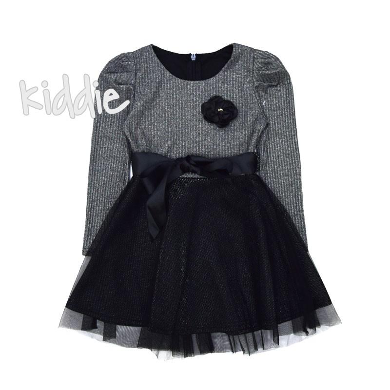 Детска рокля с аксесоар за момиче