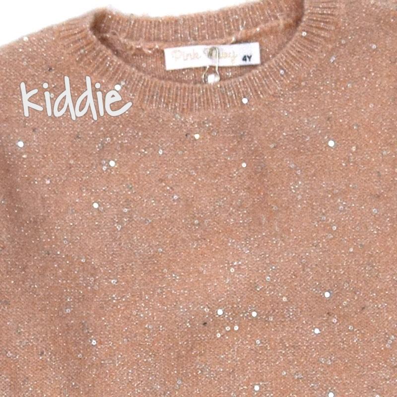 Детска плетена блуза Pink Baby за момиче