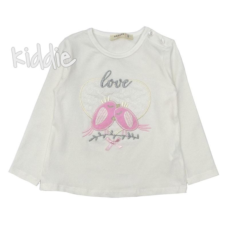 Детска блуза Breeze Love birds за момиче