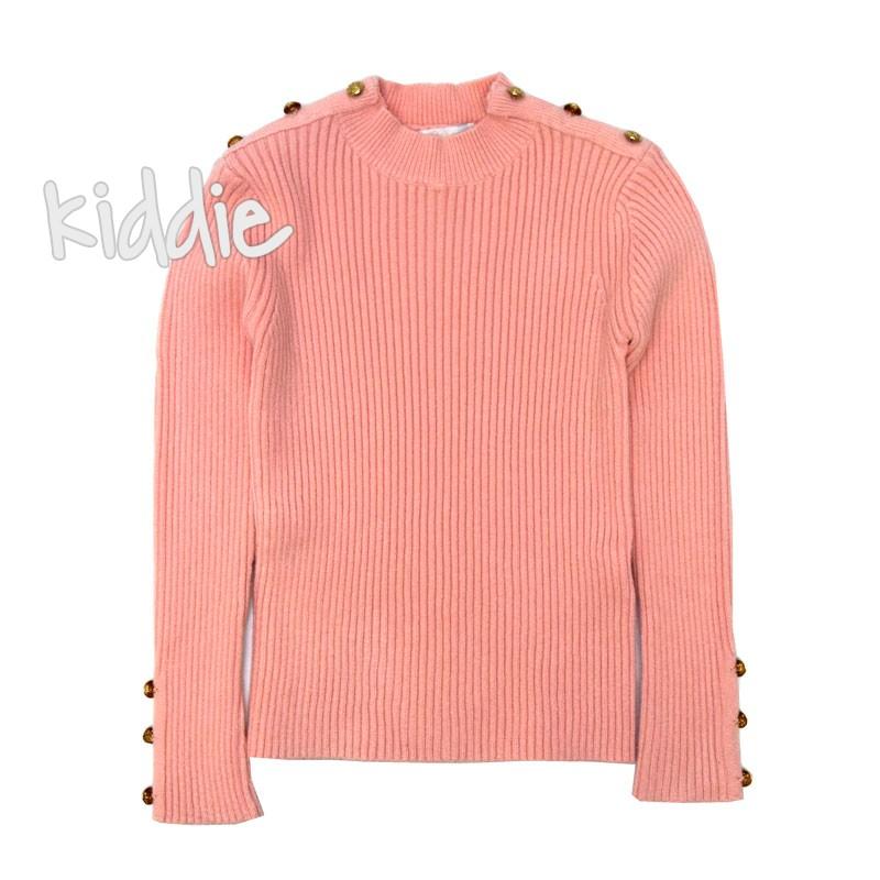 Детска блуза Pink Baby за момиче от плетиво