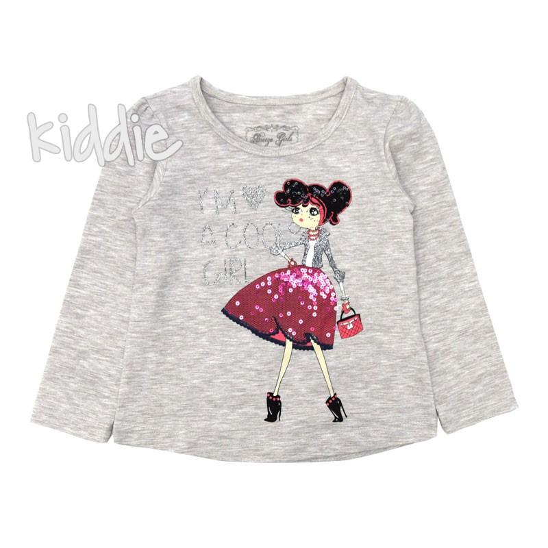 Детска блуза I am Cool Girl Breeze за момиче