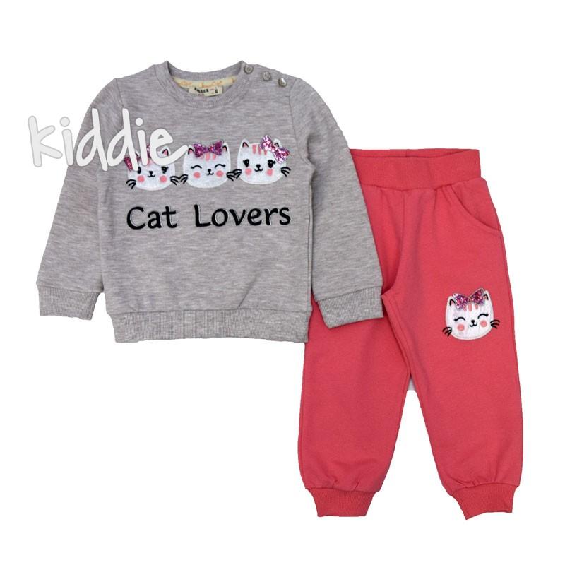 Детски комплект Cat Lovers Breeze за момиче