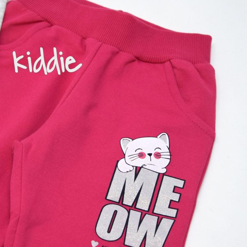 Детски спортен комплект Breeze Meow Mood за момиче