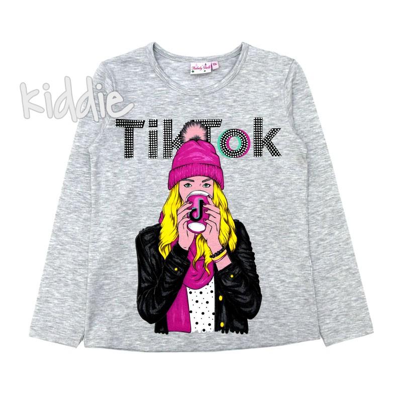 Детска блуза Tik tok Babely Girls за момиче