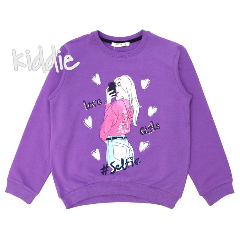 Детска блуза Love Girl за момиче