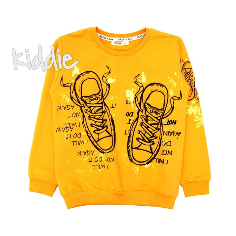 Детска блуза Breeze за момче с обувки