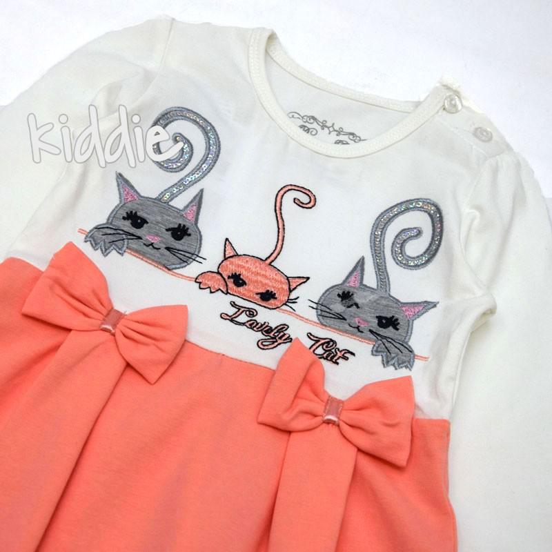 Детска рокля Lovely Cat Breeze