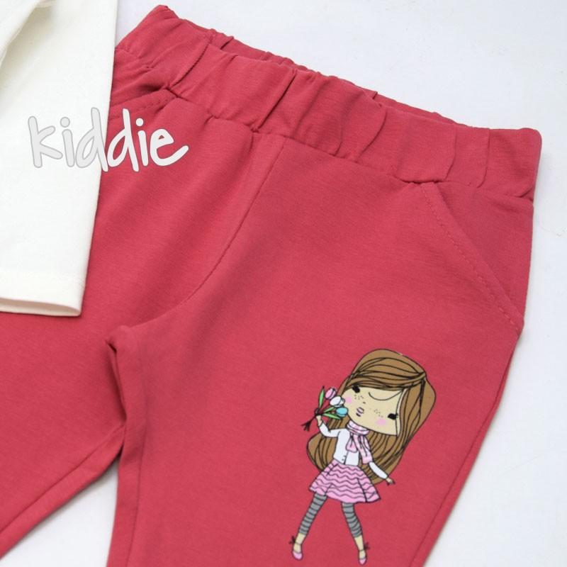 Детски комплект Breeze за момиче с кексчета и букет