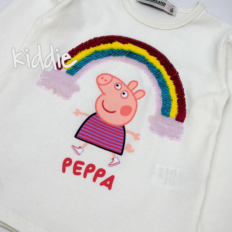 Детска блуза Kinderland Пепа Пиг за момиче
