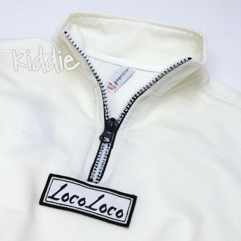 Детски комплект Loco Loco с емблема за момиче
