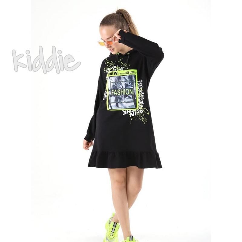 Детска рокля Fashion Loco Loco
