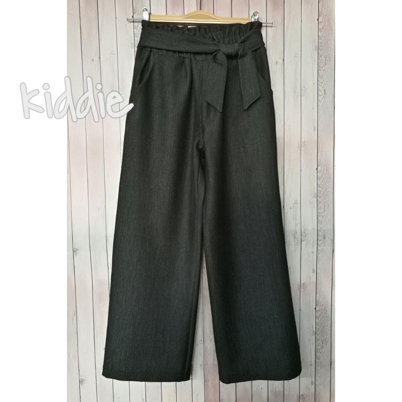 Детски панталон с висока талия за момиче Kim kids