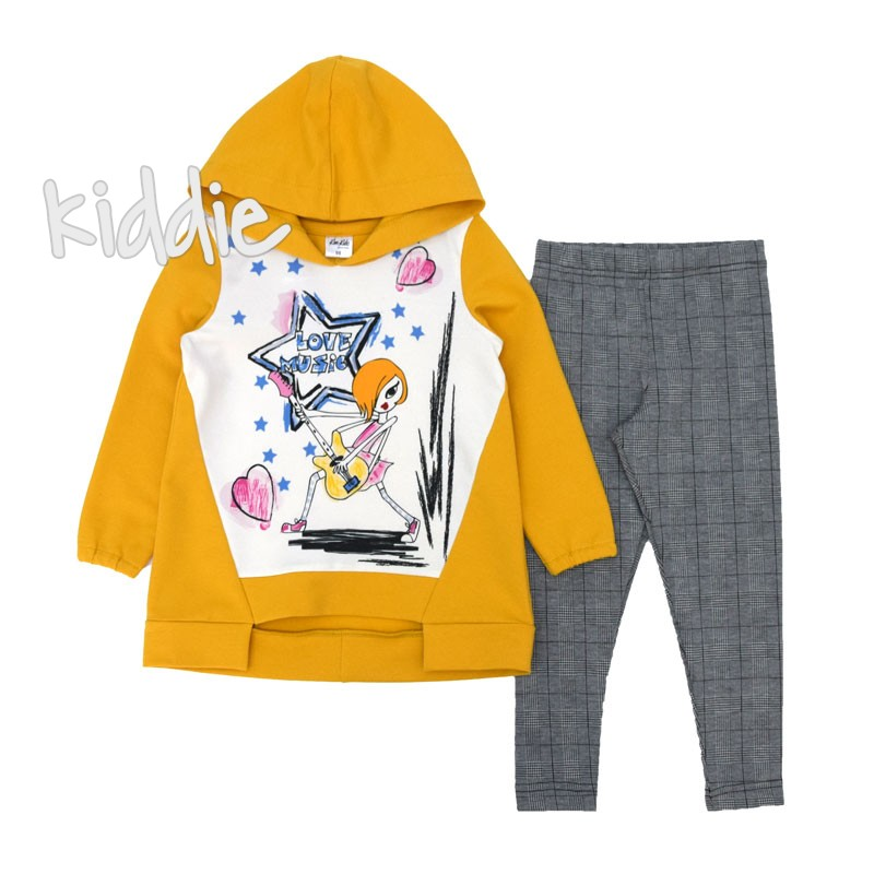 Детски комплект за момиче Kim kids с принт