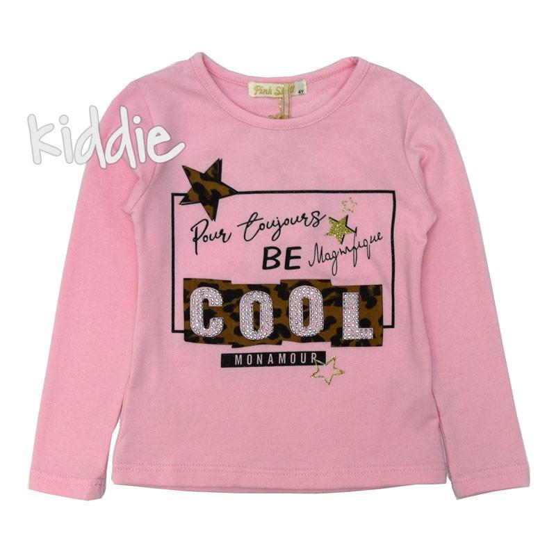 Детска блуза Pink Shell за момиче Cool