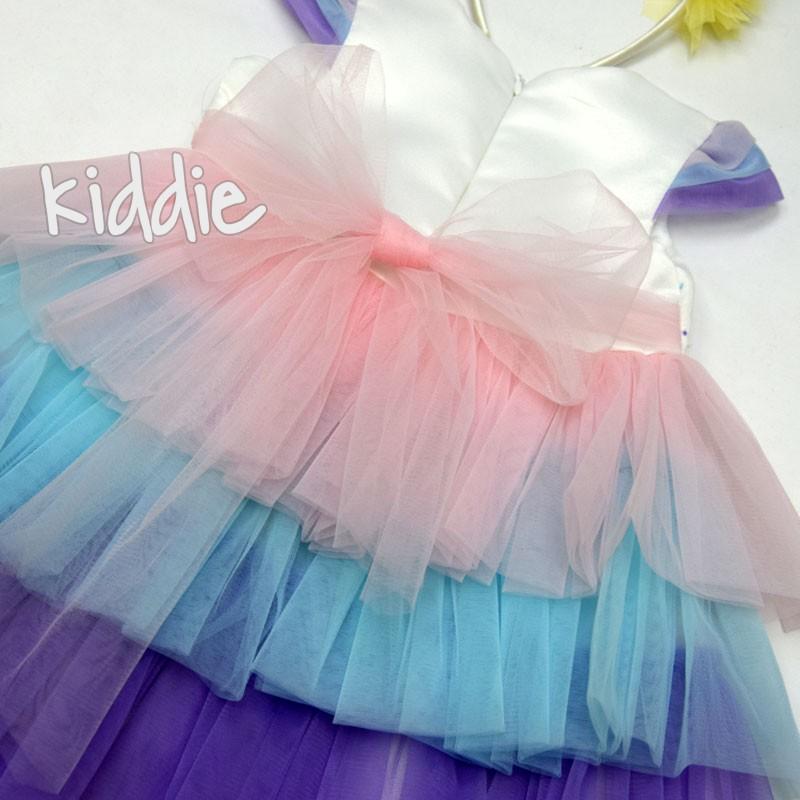 Детска рокля Im Unicorn Miss Ayisigi с диадема