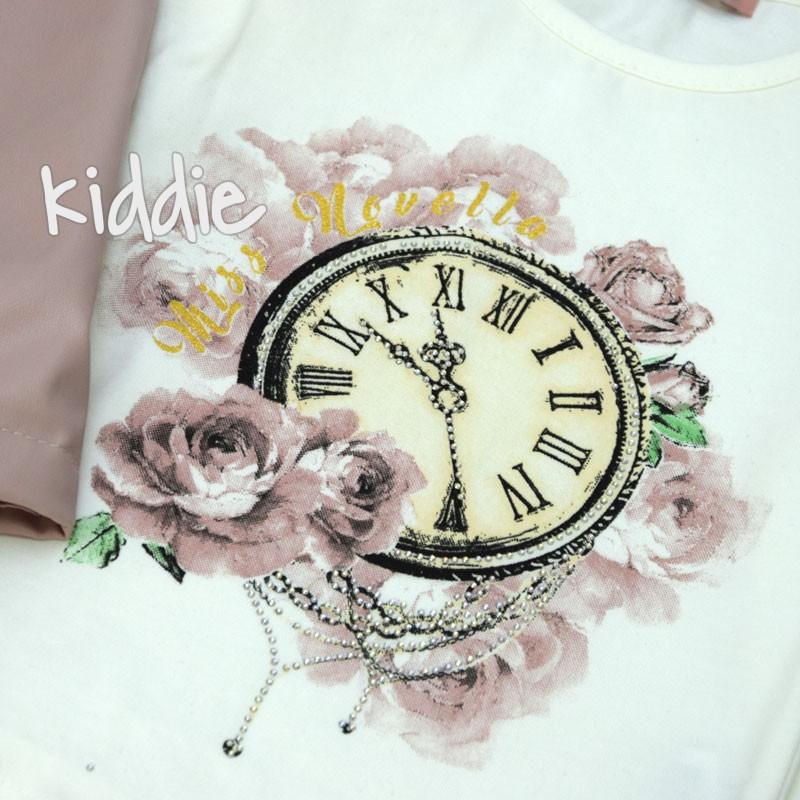 Детски комплект Часовник Novella за момиче