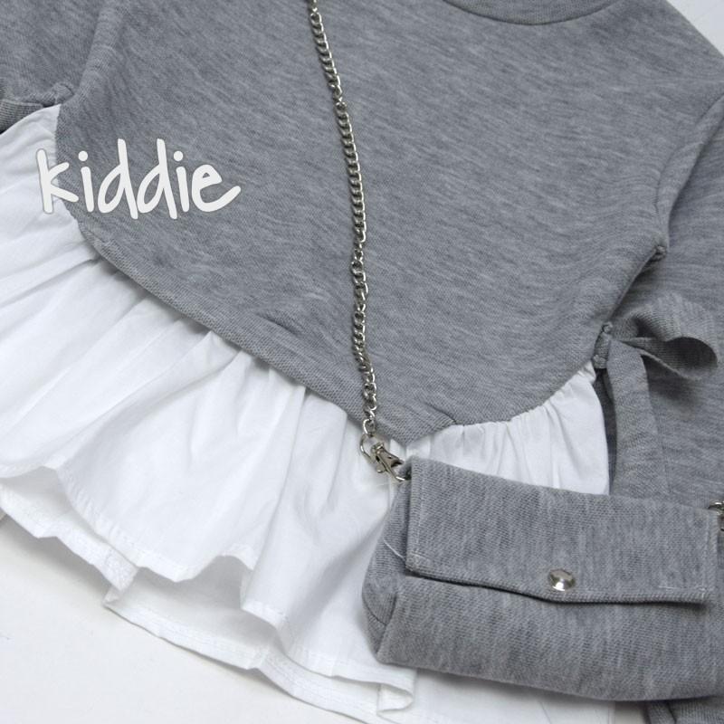Детска туника с имитация на риза