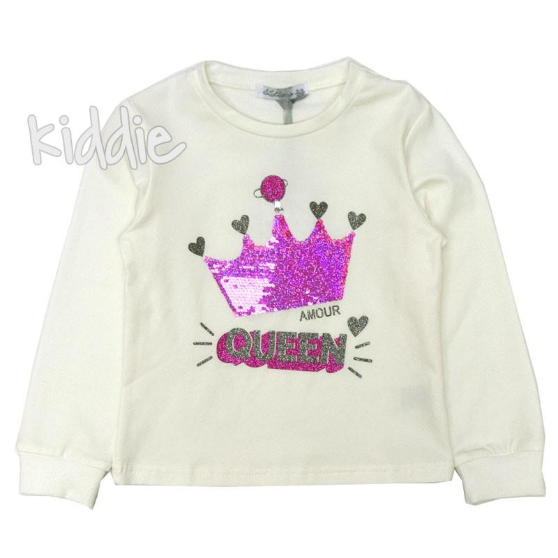 Детска блуза Queen Lollitop за момиче