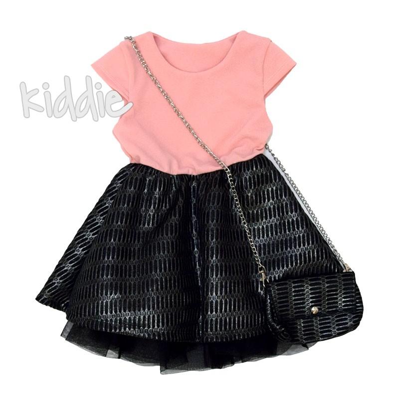Детска рокля с хастар
