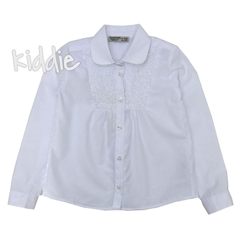 Детска риза Woorage за момиче