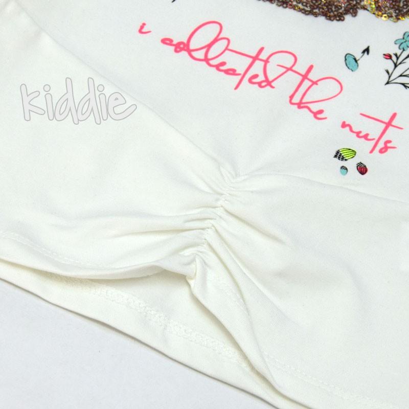 Детска блуза Катеричка Cichlid за момиче