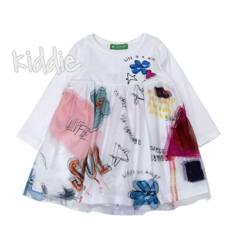 Детска рокля Life is a Gift Cichlid