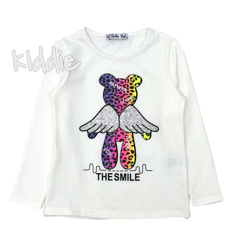 Детска блуза Smile Yes за момиче