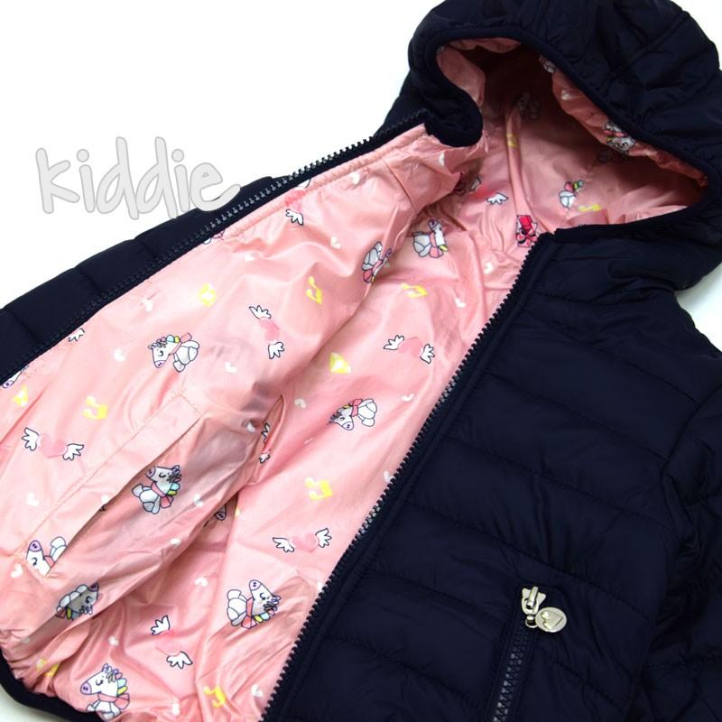Детско яке Pink Baby за момиче с две лица