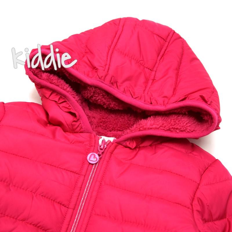 Детско яке Pink Baby за момиче с джобове