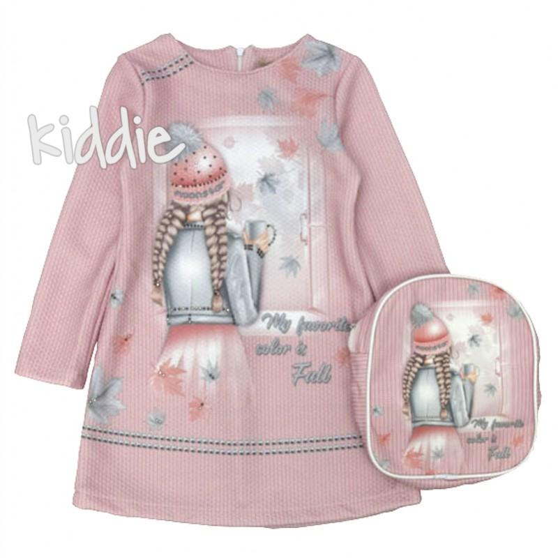Детска рокля с раница за момиче Moonstar